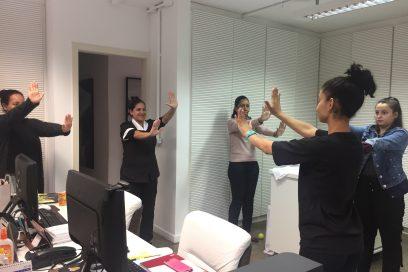 Dois Andares, de Ana Moser, volta a oferecer ginástica laboral em empresas